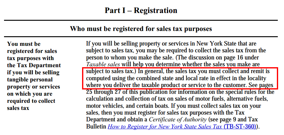 New York State Sales Tax Rate >> State Sales Tax New York State Sales Tax Jurisdiction Lookup
