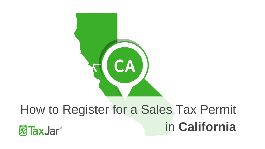 Register Sales Tax License California