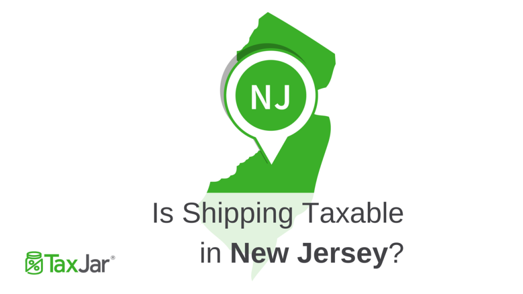 New Jersey Shipping Taxability