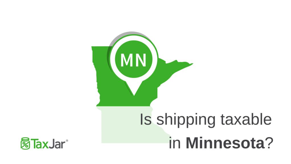 Shipping Taxable in Minnesota