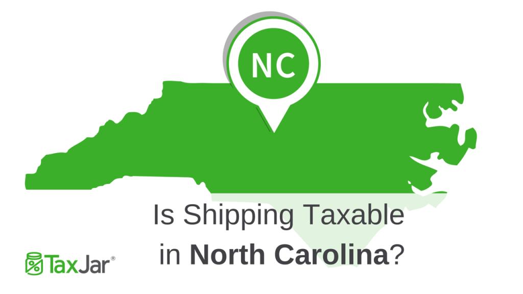North Carolina Shipping Taxability