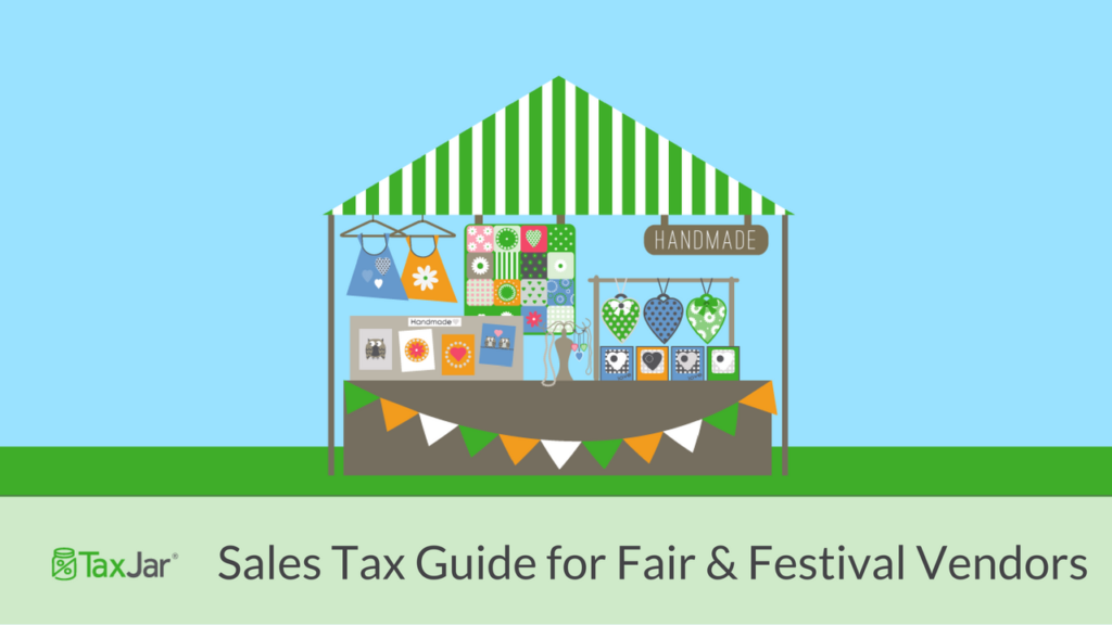 Fair and Festival sales tax guide